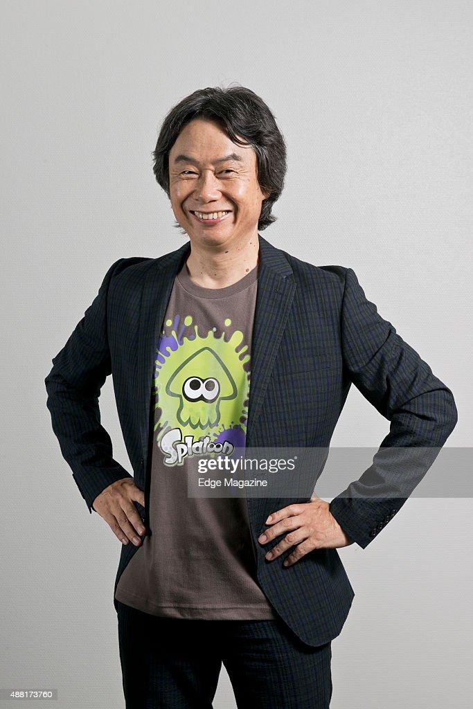 Shigeru Miyamoto Portrait Shoot