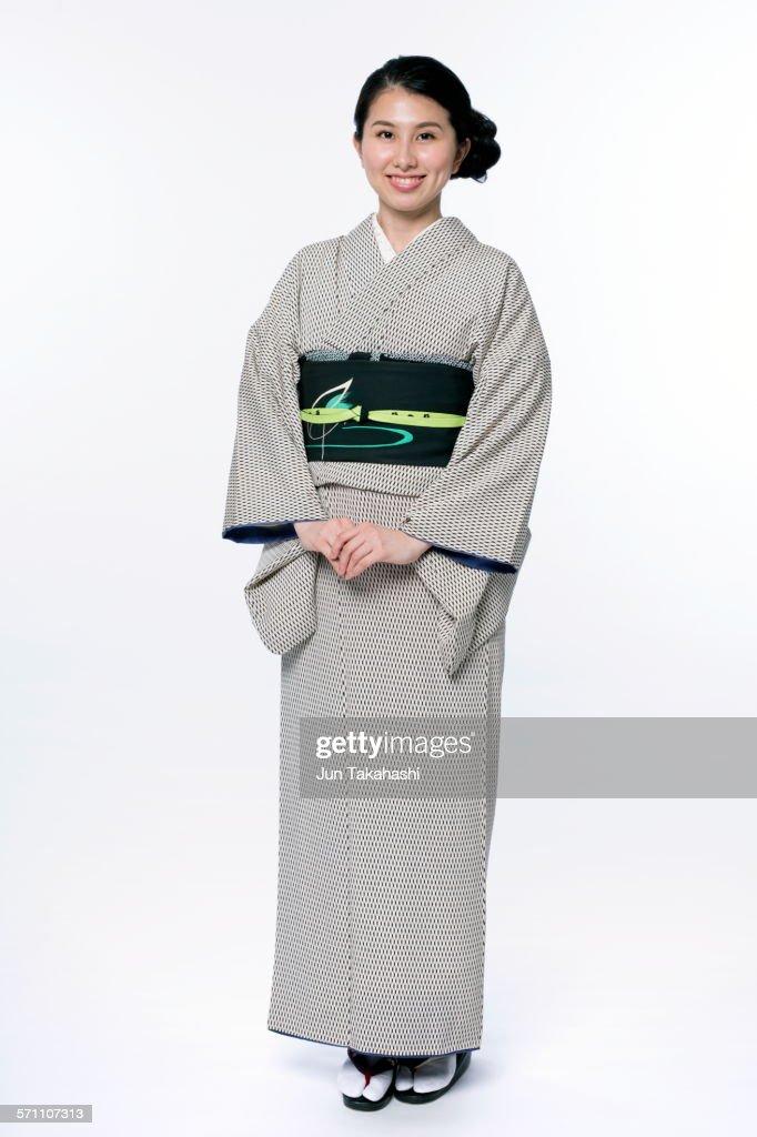 portrait of Japanese woman : Stock-Foto