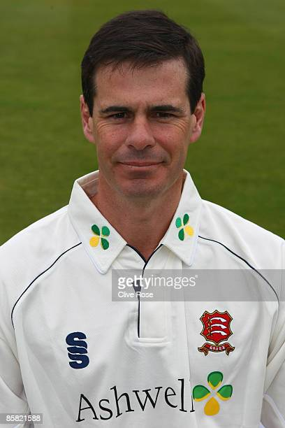 Portrait of Jason Gallian of Essex CCC during a photocall at the Ford County Ground on April 3, 2009 in Chelmsford, England.