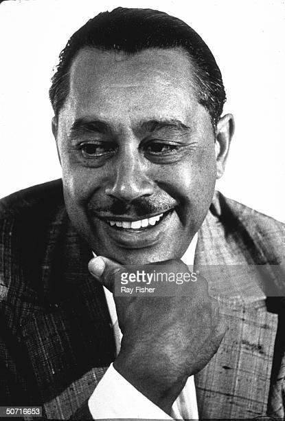 Portrait of jazz great Cab Calloway