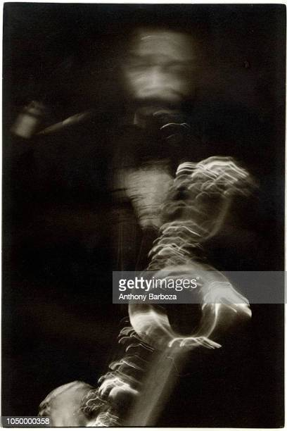 Portrait of jazz saxophonist Hamiet Bluiett New York New York 1978