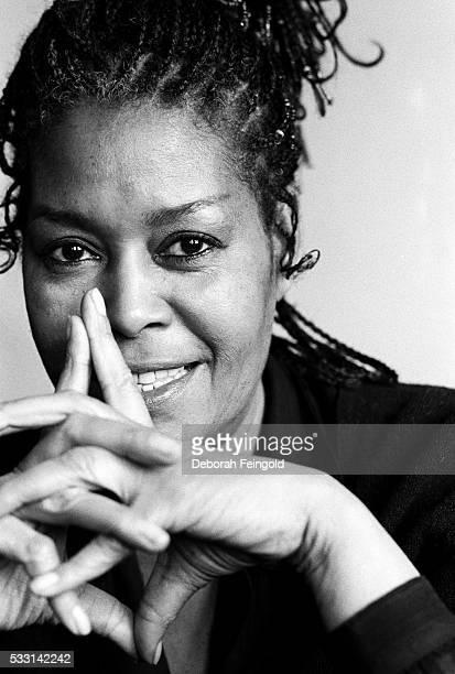 Portrait of jazz singer Abbey Lincoln
