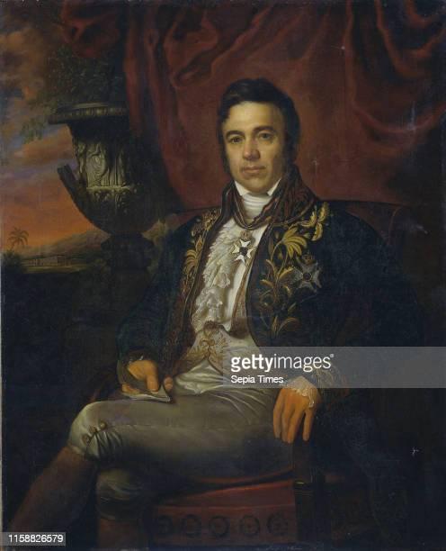 Portrait of Jean Chretien Baud, Governor-General ad interim of the Dutch East Indies, Raden Sarief Bastaman Saleh, 1835