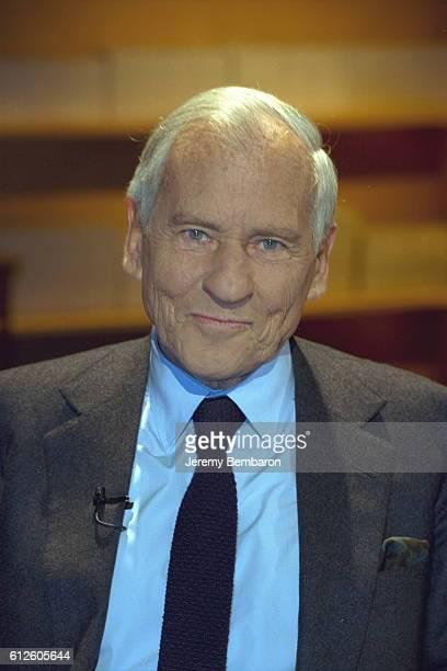 Portrait of Jean d'Ormesson author of 'Une histoire de la littérature française'