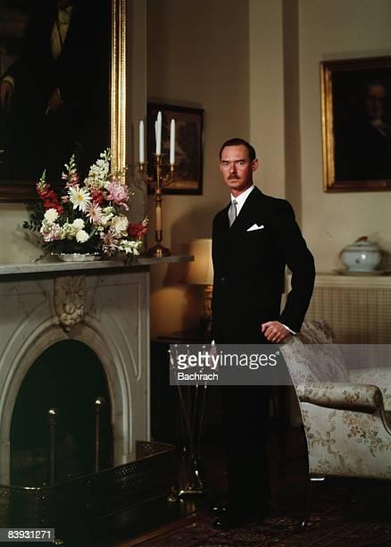 Portrait of Jean Grand Duke of Luxembourg taken in 1963 Washington DC