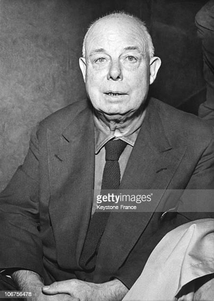 Portrait Of Jean Renoir 1950'S