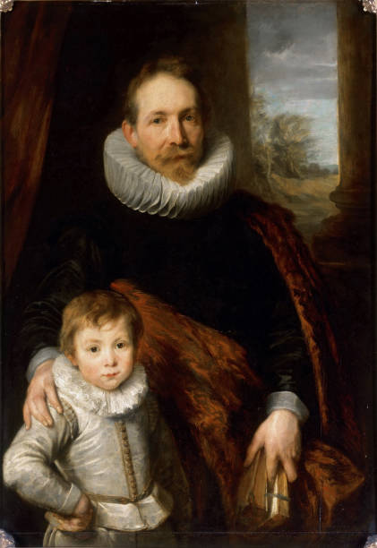 portrait of jean richardot 1540 1609 and his son pictures getty images