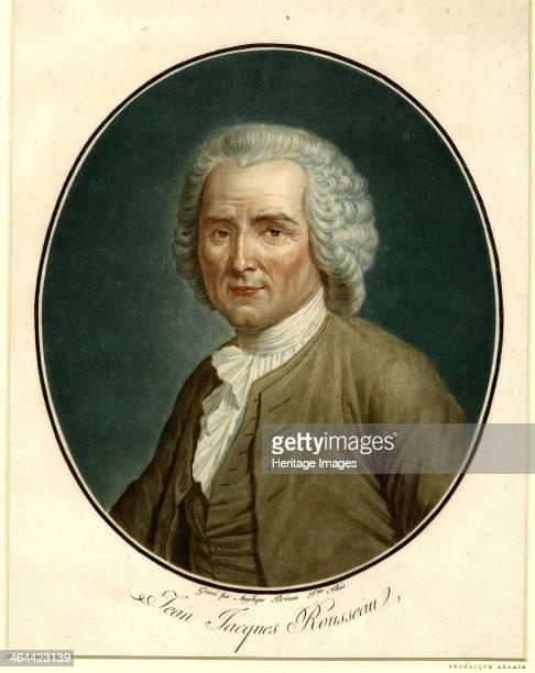 Portrait of JeanJacques Rousseau 1791 Found in the collection of the Bibliothèque de Genève