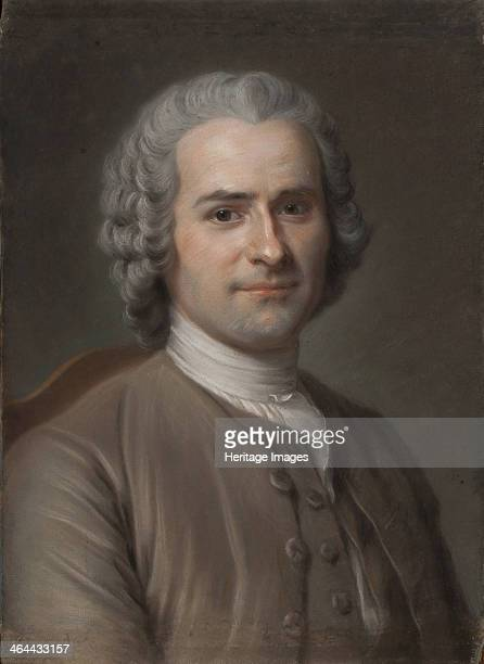 Portrait of JeanJacques Rousseau Found in the collection of the Musée Antoine Lécuyer SaintQuentin France