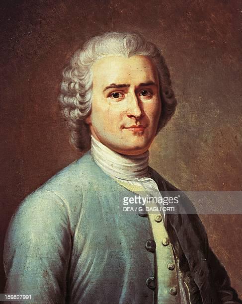 Portrait of JeanJacques Rousseau Swiss writer philosopher and musician Painting by Lacretelle Versailles Château De Versailles