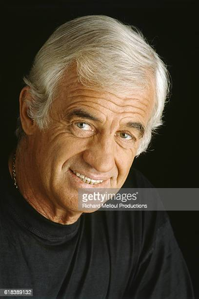 Portrait of JeanPaul Belmondo