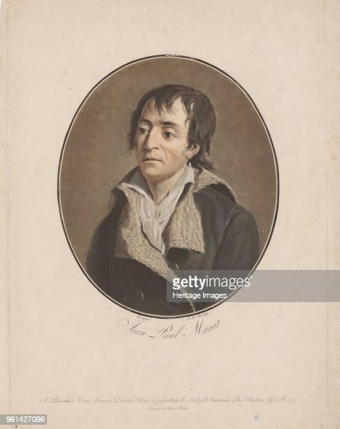 Portrait of Jean-Paul Marat , 1793-1794. Private Collection.