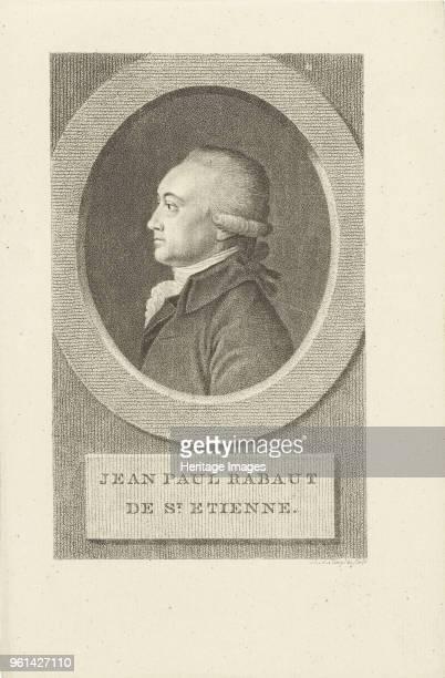 Portrait of Jean-Paul Rabaut Saint-Étienne , 1790s. Private Collection.