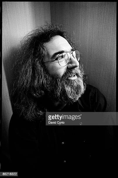 Portrait of Jerry Garcia of the Grateful Dead London 22nd March 1981
