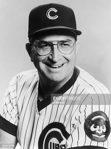 Portrait of Jim Frey manager of the Chicago Cubs from 1984 to 1986 mid 1980s