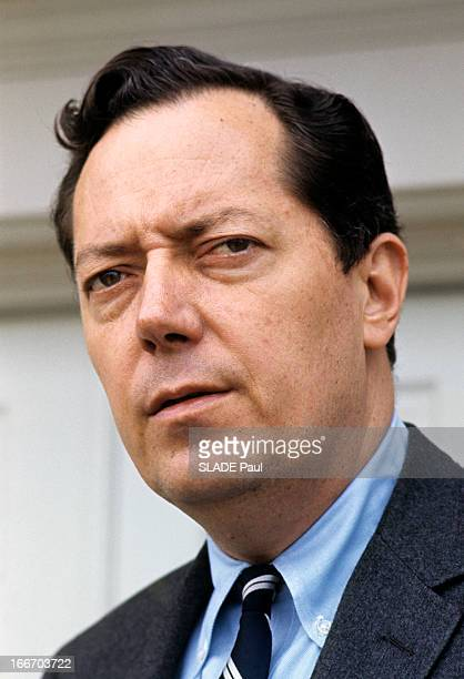 Portrait Of Jim Garrison General Attorney In New Orleans Aux EtatsUnis en mars 1967 portrait de Jim GARRISON procureur de La Nouvelle Orléans...