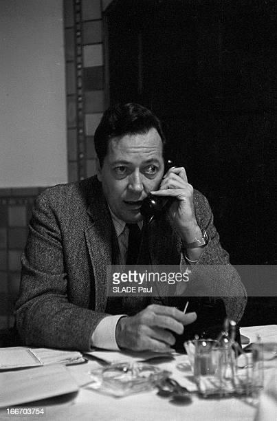 Portrait Of Jim Garrison General Attorney In New Orleans Aux EtatsUnis le 2 mars 1967 dans un bureau Jim GARRISON procureur de La Nouvelle Orléans...