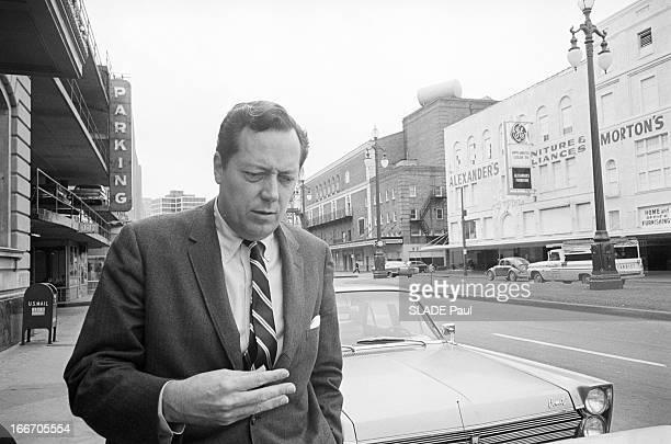 Portrait Of Jim Garrison General Attorney In New Orleans Aux EtatsUnis le 2 mars 1967 Jim GARRISON procureur de La Nouvelle Orléans enquêtant sur...