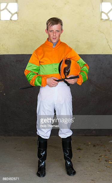 Jockey at Racecourse