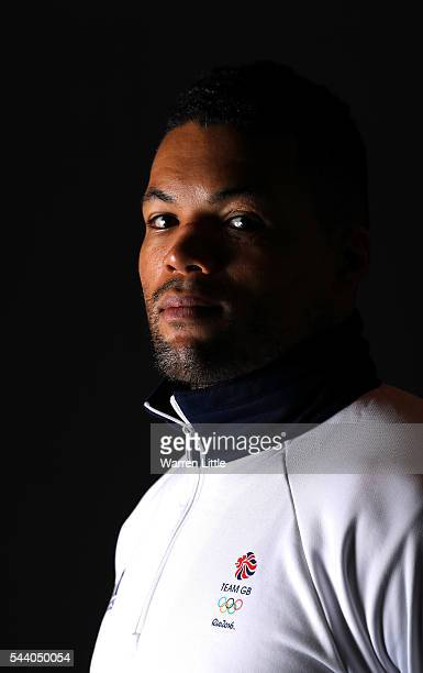 A portrait of Joe Joyce a member of the Great Britain Olympic team during the Team GB Kitting Out ahead of Rio 2016 Olympic Games on July 1 2016 in...