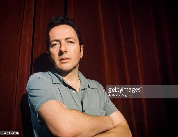 Portrait of Joe Strummer backstage at The Fillmore in San Francisco, California, United States on 6th July, 1999.