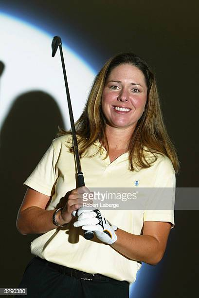 Portrait of Joellyn ErdmannCrooks during tthe portrait session before the start of the Office Depot Championship on March 30 2004 at the El Caballero...