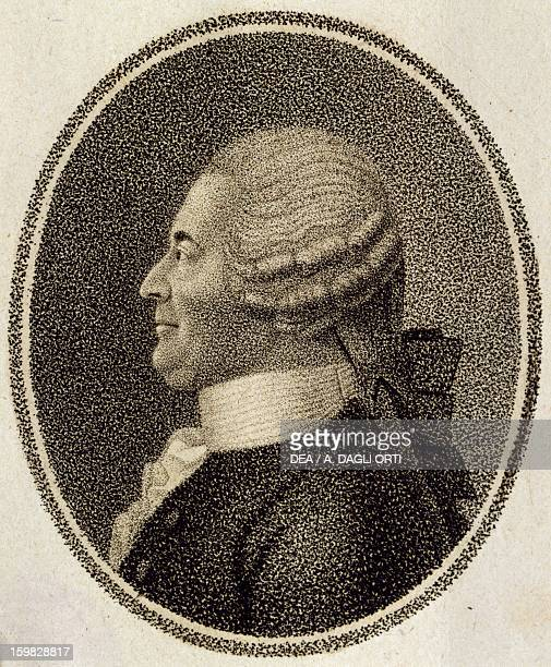 Portrait of Johann Adam Joseph Karl Georg Reutter , Austrian composer. Vienna, Historisches Museum Der Stadt Wien