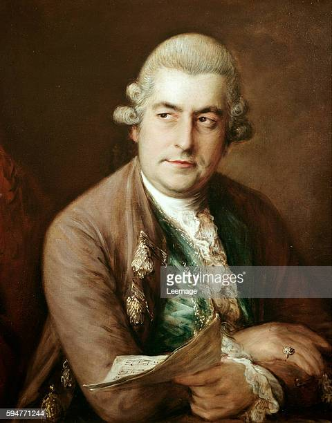 Portrait of Johann Christian Bach by Thomas Gainsborough civico Museo Bibliografico Musicale Bologna Italy