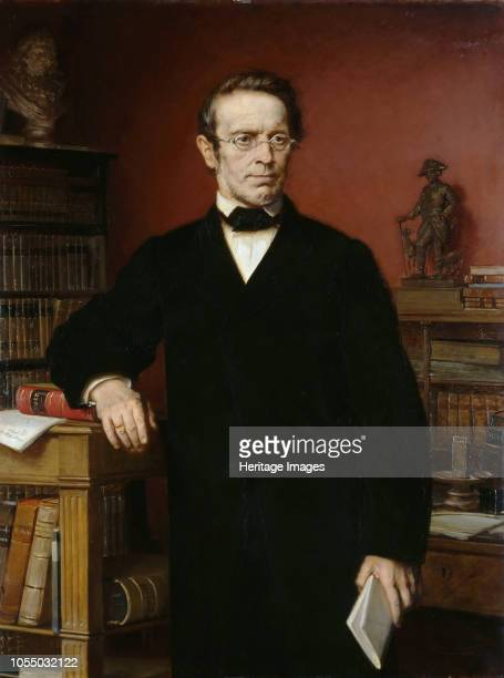 Portrait of Johann Gustav Droysen 1885 Found in the Collection of Staatliche Museen Berlin Artist Bendemann Eduard