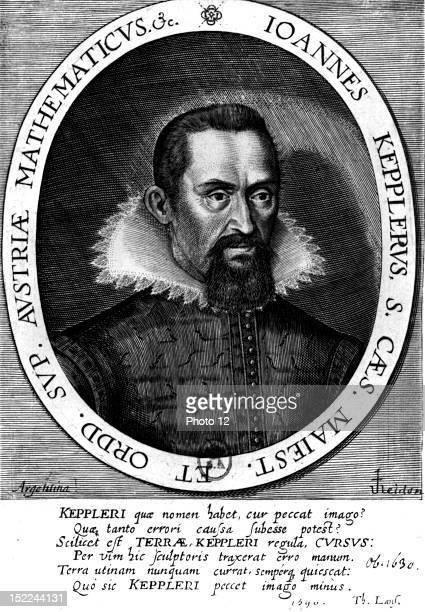 Portrait of Johann Kepler 17th FranceParis Bibliotheque Nationale