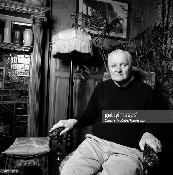 Portrait of John Ashbery American Pulitzer Prizewinning poet at home in Hudson New York 2010