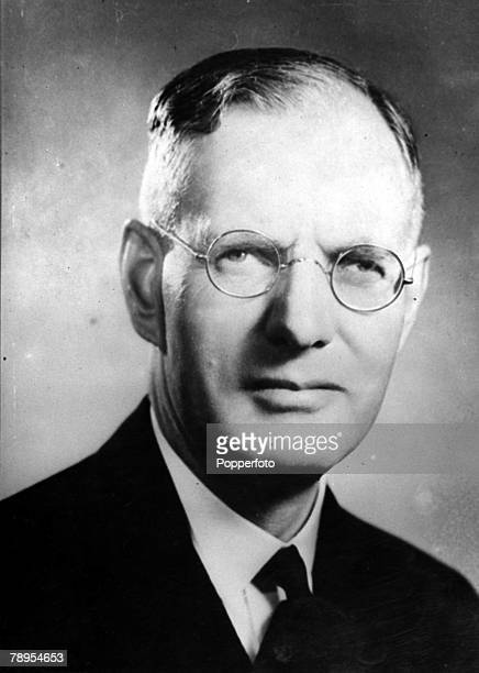 A portrait of John Curtin the Australian Labour politician from 1935 and Prime Minister from 194145
