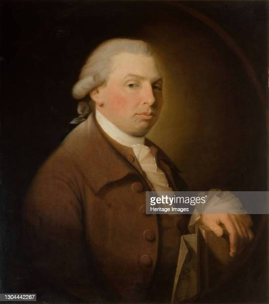 Portrait Of John Derrington, 1750-1805. Dr John Derrington , Birmingham surgeon and apothecary. Artist James Millar.