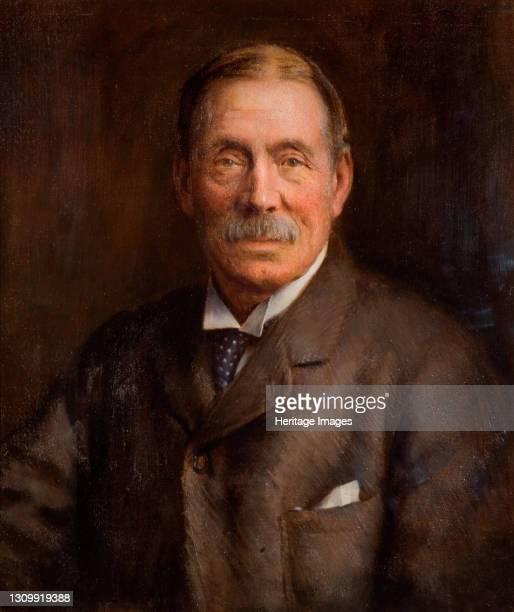 Portrait Of John Feeney , 1906. Artist Lance Calkin. .
