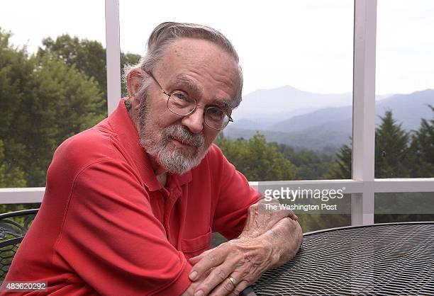 Portrait of John Huffman at his home in Sylva, North Carolina.