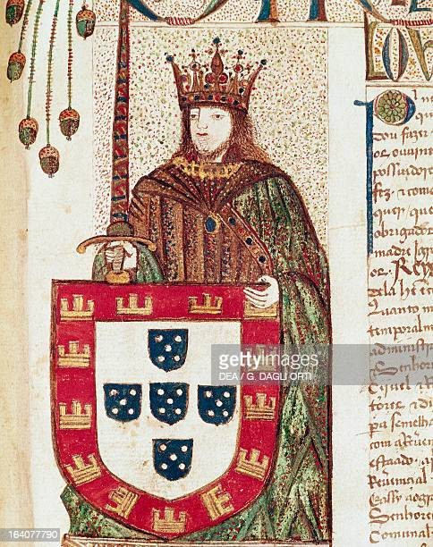 Portrait of John II of Portugal known as The Perfect Prince King of Portugal and the Algarves Thumbnail by Livro dos copos da Ordem de Santiago...