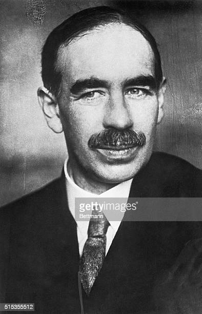 Portrait of John Maynard Keynes, who was an English economist.