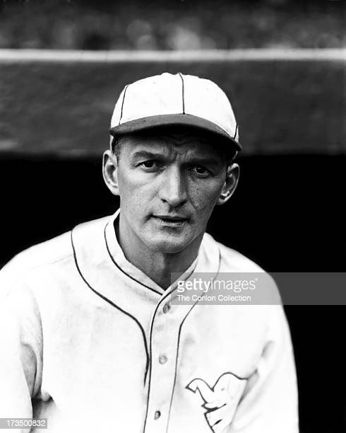 A portrait of John P Boley of the Philadelphia Athletics in 1927