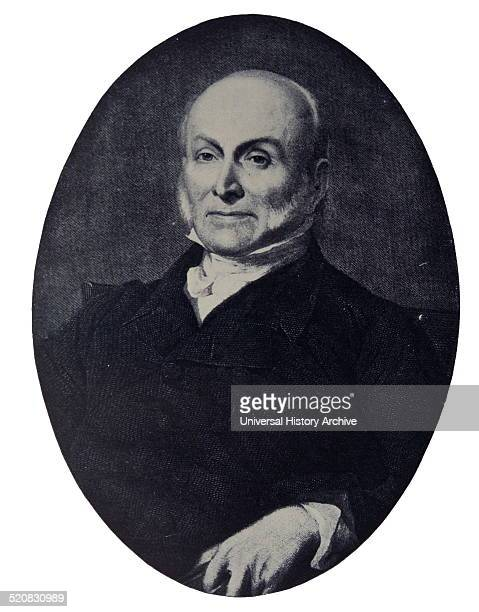 Portrait of John Quincy Adams American statesman who served as the sixth President of the United States He also served as a diplomat a Senator and...