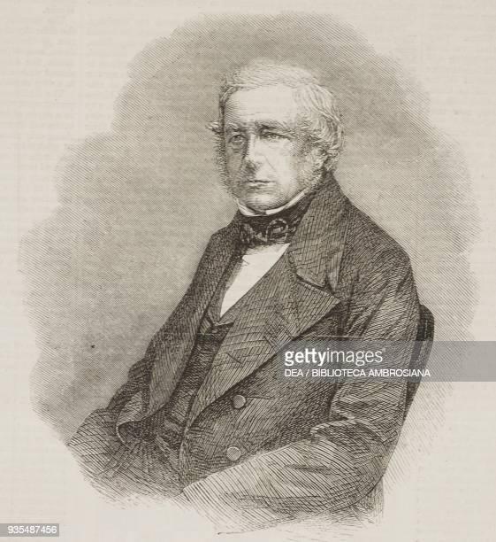 Portrait of John Stevens Henslow professor of Botany at Cambridge University illustration from the magazine The Illustrated London News volume...