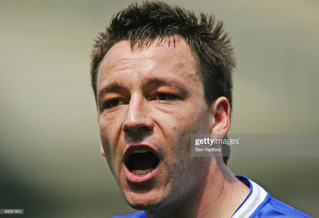 A portrait of John Terry of Chelsea during the Barclays Premiership match between Chelsea and Charlton at Stamford Bridge on May 7, 2005 in London, England.