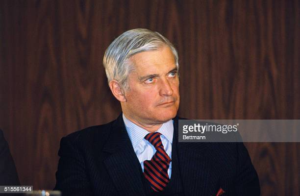 Portrait of John Turner Canadian politician who succeeded Pierre Elliott Trudeau in 1984 as leader of the Liberal Party and Prime Minister of Canada