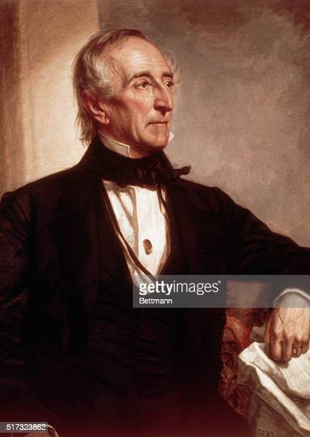 A portrait of John Tyler the tenth president of the United States Tyler was the first president to succeed to office from the vice presidency upon...