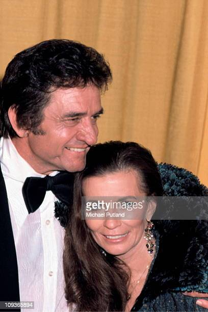A portrait of Johnny Cash and June Carter New York 1979