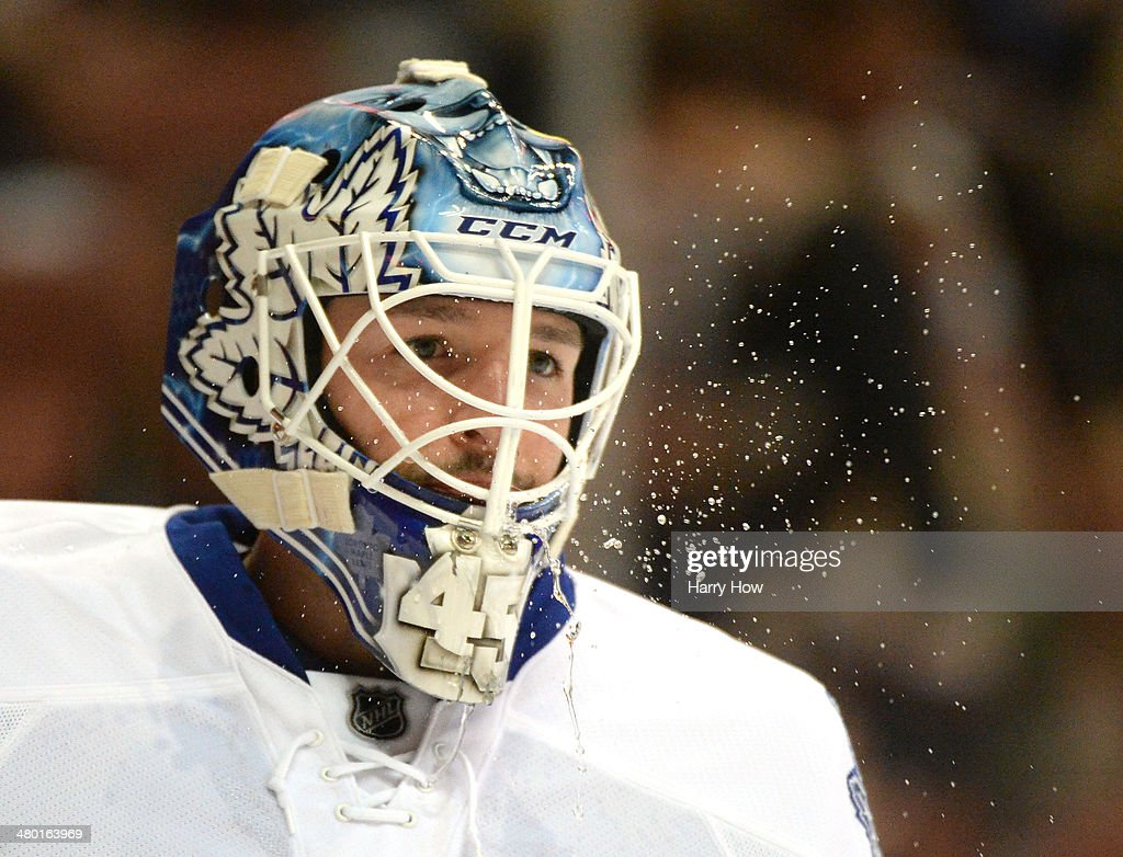 Toronto Maple Leafs v Anaheim Ducks : News Photo
