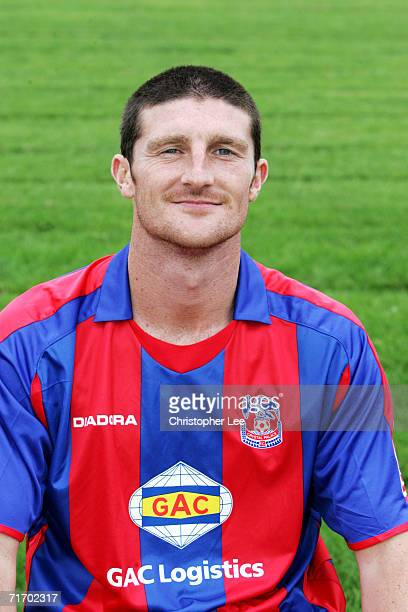 A portrait of Jonathan Macken during the Crystal Palace Football Club Photocall at their Beckenham Training Ground on August 3 2006 in Beckenham...