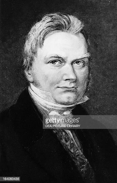 Portrait of Jons Jacob Berzelius Swedish chemist