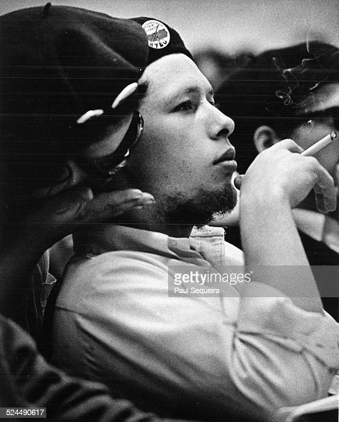 Portrait of Jose 'Cha Cha' Jimenez leader of the Young Lords Organization Chicago Illinois 1960s