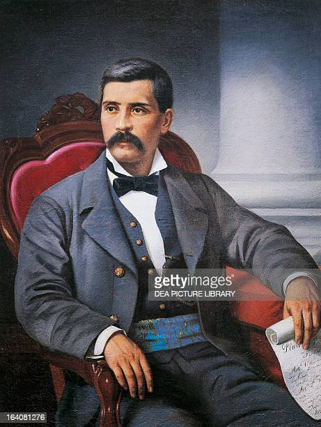 Portrait of Jose de la Cruz Porfirio Diaz Mory Mexican politician and president Oaxaca Museo De Las Culturas De Oaxaca