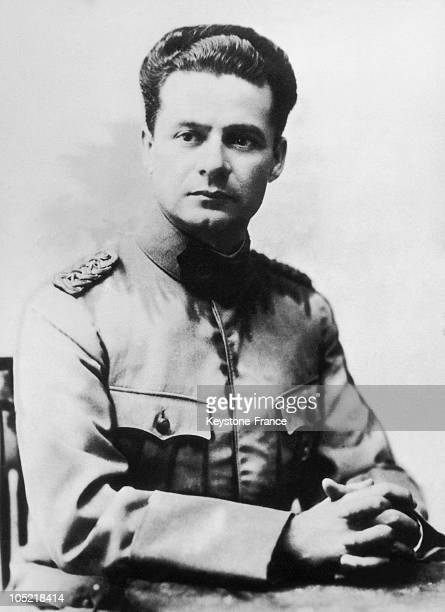 Portrait Of Jose Felix Estigarribia On May 10, 1939. He Was Elected President Of Paraguay On August 15, 1939.